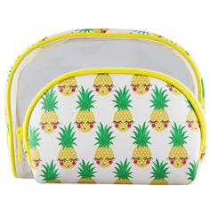 Набор косметичек LADY PINK STAY JUICY Pineapple 2 шт