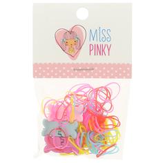 Набор 6 крабов, 50 резинок MISS PINKY