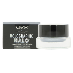 Подводка для глаз NYX PROFESSIONAL MAKEUP HOLOGRAPHIC HALO тон 06 crystal vault кремовая