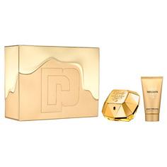 Набор подарочный женский PACO RABANNE LADY MILLION парфюмерная вода 50 мл, лосьон для тела 75 мл