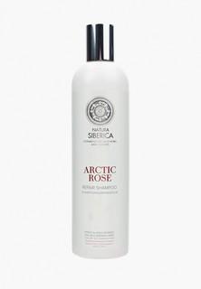 """Шампунь Natura Siberica Восстанавливающий """"Арктическая роза"""", 400 мл"""