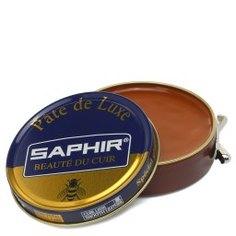 Крем для обуви SAPHIR PATE DE LUXE светло-коричневый