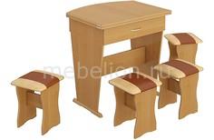 Набор кухонный тип 2 ольха/бук/коричневый Мебель Трия