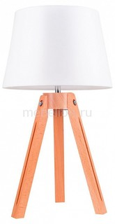 Настольная лампа декоративная Tripod Beech 6111031 Spot Light