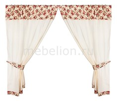 Портьера (145х180 см) 2 шт. Розовый сад 850-833-11