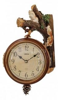 Настенные часы (29.5х42 см) Двусторонние 8119 Петроторг