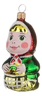 Елочная игрушка (7 см) Машенька 860-347