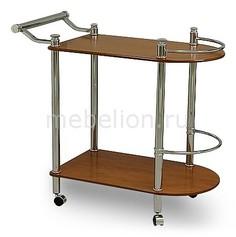 Стол сервировочный А 1935CH хром/вишня светлая Петроторг