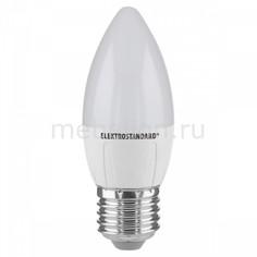 Лампы светодиодная Свеча СD LED 6W 3300K E27 Elektrostandard