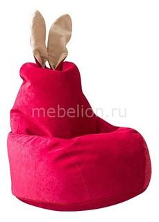 Кресло-мешок Зайчик Малиновое Dreambag