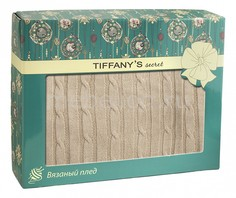 Плед (140х180 см) Косичка Tiffanys Secret