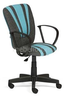 Кресло компьютерное Spectrum серый/голубой Tetchair