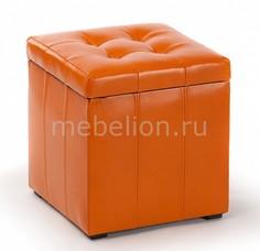 Пуф ПФ-2 оранжевый Вентал