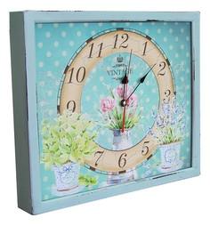 Настенные часы (34х30 см) Кувшин с цветами 3034-18 Акита