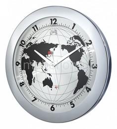 Настенные часы (41 см) Карта мира 4001S Tomas Stern