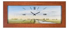 Настенные часы (66х28 см) Lowell 05631 Анкона