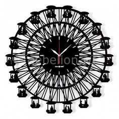 Настенные часы (62.4 см) BIG WHEEL 04006bk1 Silver Smith