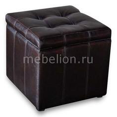 Пуф-сундук Модерна коричневая Dreambag