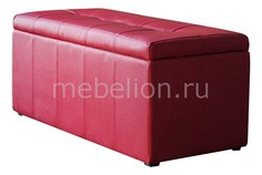 Банкетка-сундук Лонг красная Dreambag
