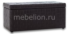 Банкетка-сундук Лонг TETRA черная Dreambag