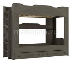 Кровать двухъярусная Ассоль плюс АС-25 Компасс мебель