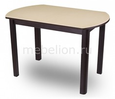 Стол обеденный Альфа ПО с камнем Домотека