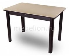 Стол обеденный Альфа ПР с камнем Домотека