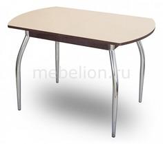 Стол обеденный Чинзано ПО со стеклом Домотека