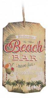 Панно (20х35 см) Beach Bar 317572 ОГОГО Обстановочка