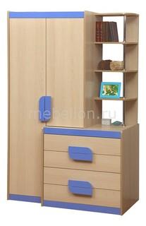 Шкаф комбинированный Лайф-1 Олимп мебель