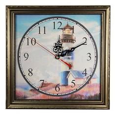 Настенные часы (33.5х33.5 см) Маяк-AKI 3434-3 Акита