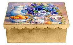 Шкатулка декоративная (26х18х13 см) Виола 1826-11 Акита