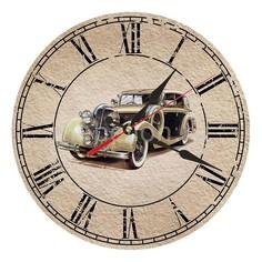 Настенные часы (30 см) Автомобиль C55 Акита
