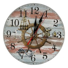 Настенные часы (40 см) Якорь C40-7 Акита