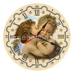 Настенные часы (30 см) Ангелы AC24 Акита