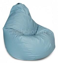 Кресло-мешок Голубая ЭкоКожа XL Dreambag
