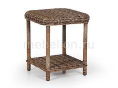 Стол журнальный Catherine 5536-62 коричневый Brafab