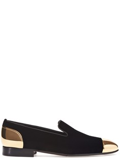 Слиперы с декоративными элементами на носке и пятке Louis Leeman