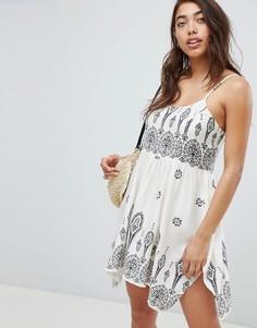 Пляжное платье с платочным принтом ASOS DESIGN - Мульти