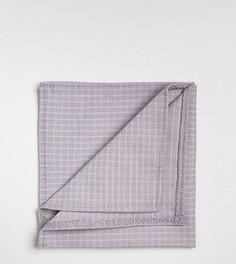 Платок для нагрудного кармана в клеточку Noak - Серый
