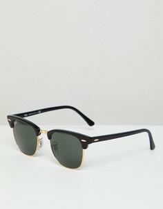 Солнцезащитные очки Клабмастер Ray-Ban - Черный
