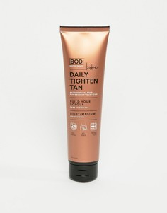 Средство для автозагара BOD BAKE Daily Tighten Tan Light - Med - Бесцветный