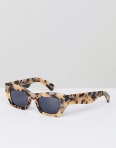Черепаховые солнцезащитные очки кошачий глаз Pared - Бежевый