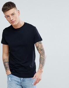 Черная футболка из органического хлопка Pull&Bear - Черный Pull&;Bear
