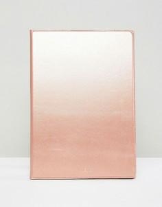 Кожаный чехол для iPad Pro с диагональю экрана 9,7 дюймов Knomo London - Золотой