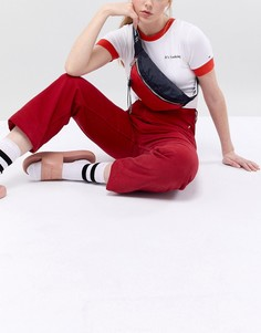 Сумка-кошелек на пояс с фирменной лентой на ремешке Tommy Jeans - Мульти