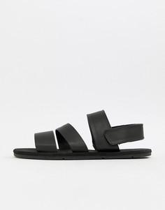 Черные сандалии Pull&Bear - Черный Pull&;Bear