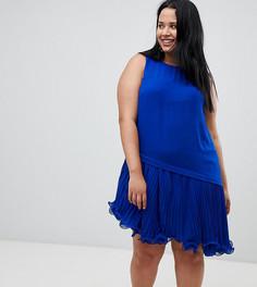 Платье с проволочной окантовкой по краю Coast Plus - Синий