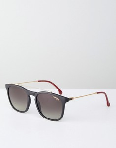 Черные круглые солнцезащитные очки Carrera - Черный