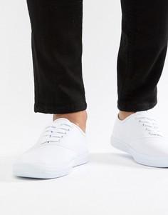 Белые парусиновые кеды ASOS DESIGN - Белый